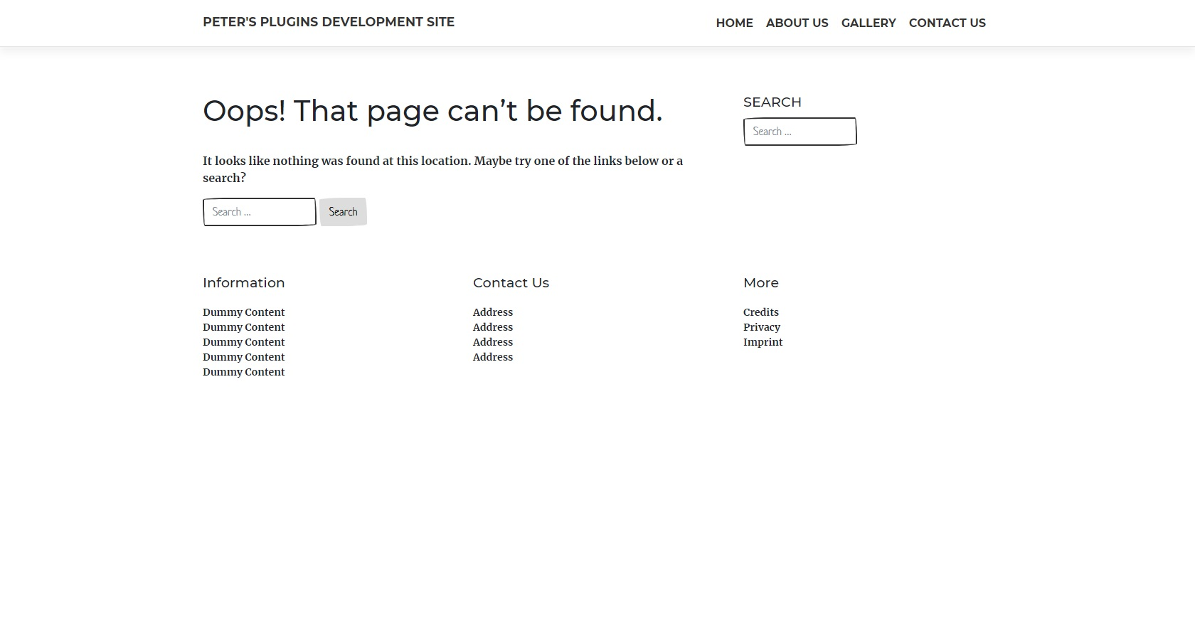 404page – your smart custom 404 error page Download Free Wordpress Plugin 3
