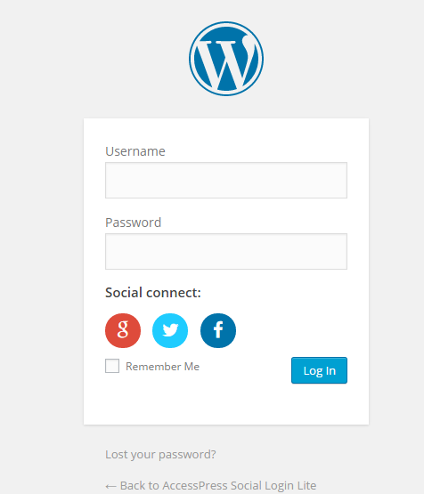 AccessPress Social Login Lite – Social Login WordPress Plugin Download Free Wordpress Plugin 1