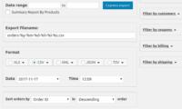 Advanced Order Export For WooCommerce Download Free WordPress Plugin