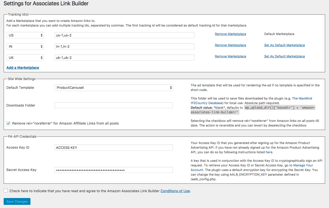 Amazon Associates Link Builder Download Free Wordpress Plugin 1
