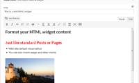 Black Studio TinyMCE Widget Download Free WordPress Plugin