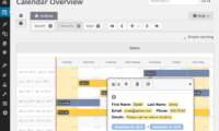 Booking Calendar Download Free WordPress Plugin