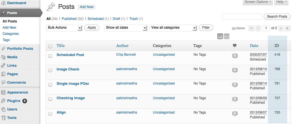 Catch IDs Download Free Wordpress Plugin 3