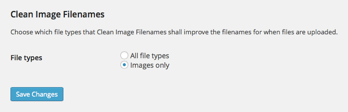 Clean Image Filenames Download Free Wordpress Plugin 5