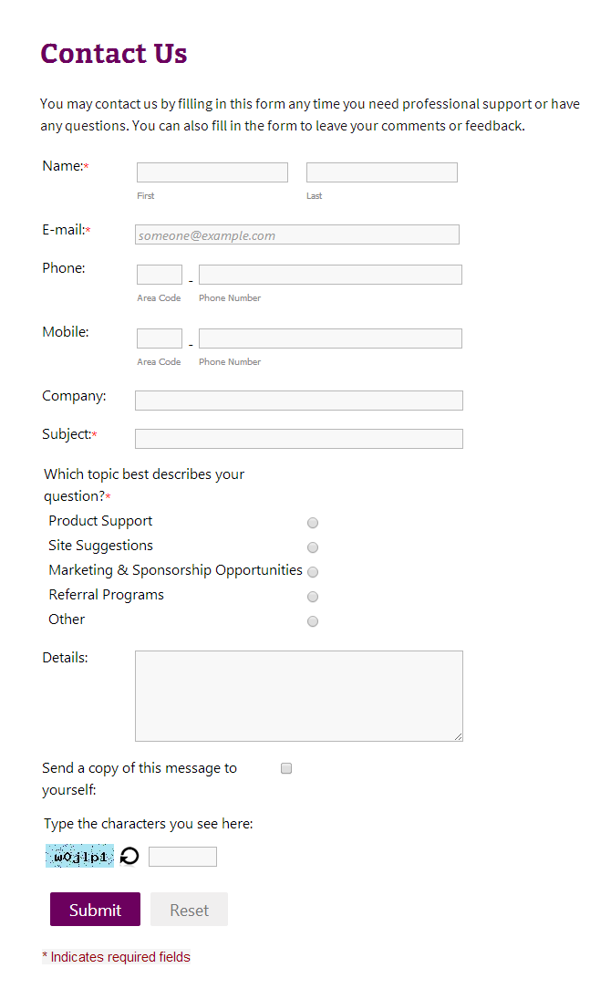Contact Form Builder – a plugin for creating contact and feedback forms Download Free Wordpress Plugin 4