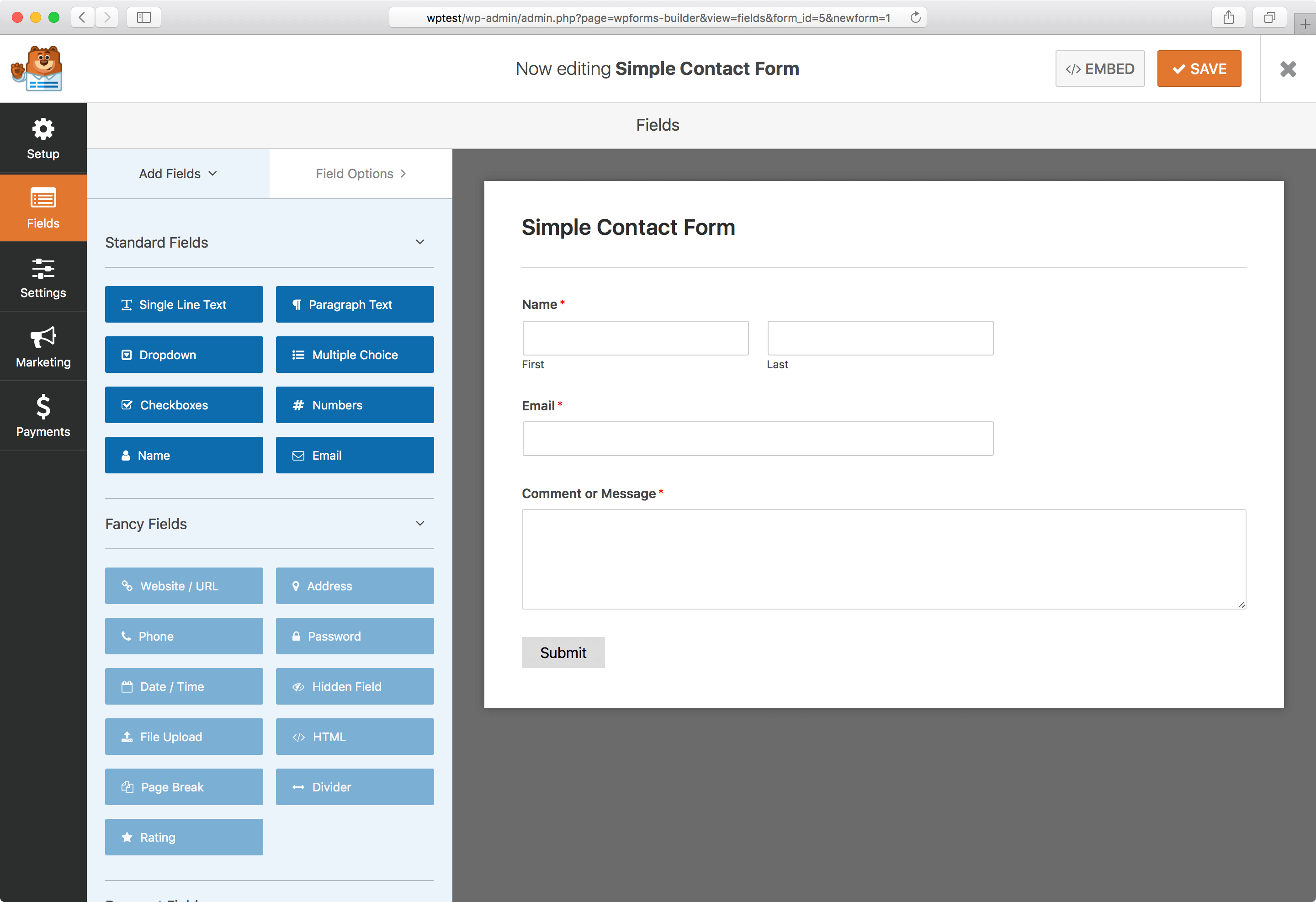 Contact Form by WPForms – Drag & Drop Form Builder for WordPress Download Free Wordpress Plugin 3