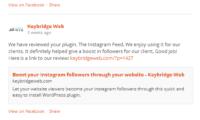 Custom Facebook Feed Download Free WordPress Plugin