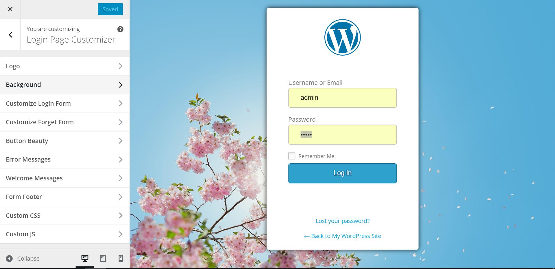 Custom Login Page Customizer | LoginPress Download Free Wordpress Plugin 2