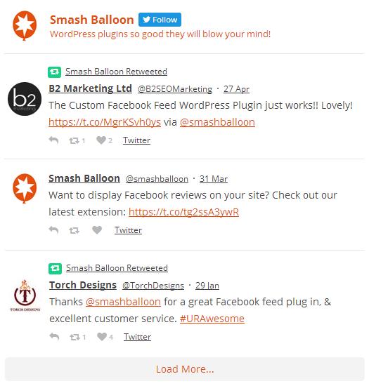 Custom Twitter Feeds Download Free Wordpress Plugin 4