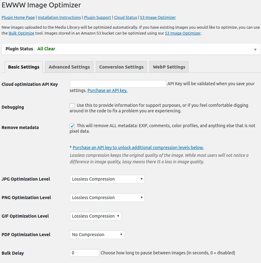 EWWW Image Optimizer Download Free Wordpress Plugin 3