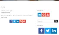 Easy Social Icons Download Free WordPress Plugin