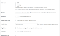 Easy Table of Contents Download Free WordPress Plugin