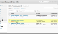 Events Manager Download Free WordPress Plugin