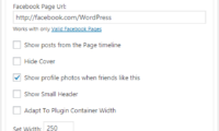 Facebook Widget Download Free WordPress Plugin