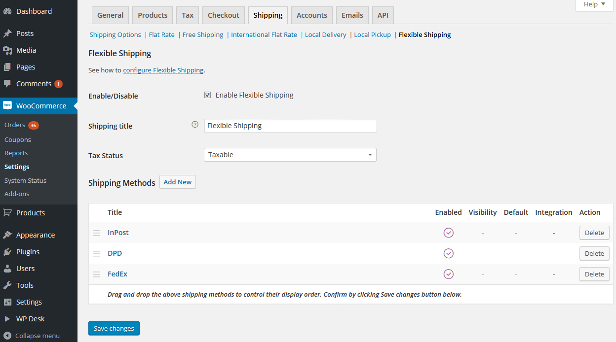 Flexible Shipping for WooCommerce Download Free Wordpress Plugin 1
