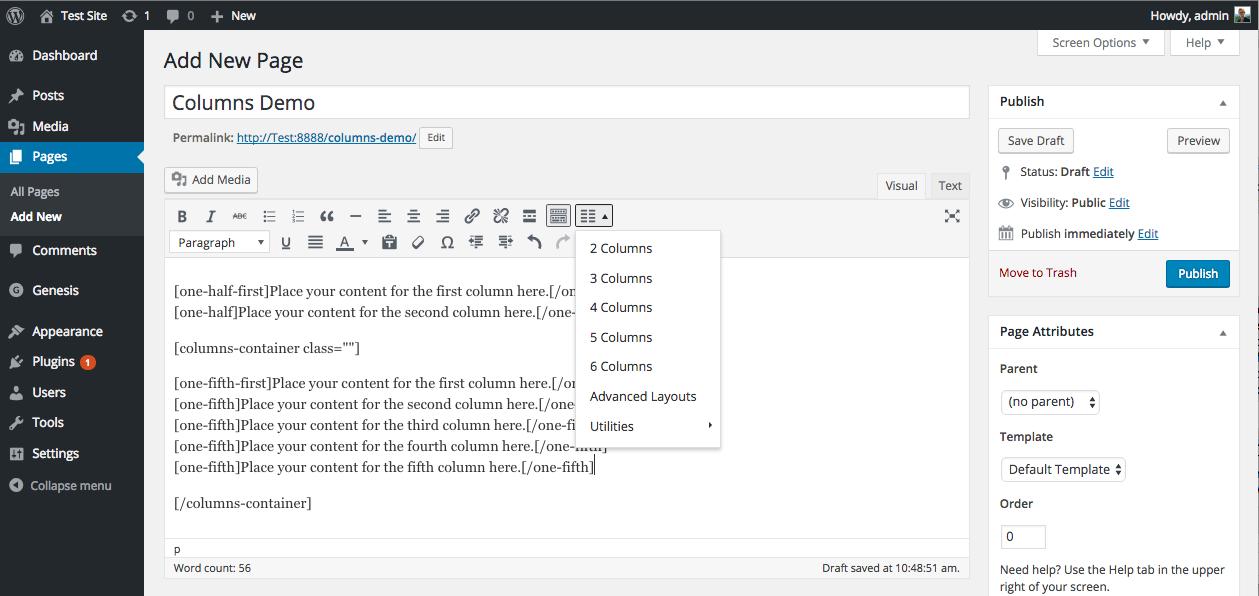 Genesis Columns Advanced Download Free Wordpress Plugin 4