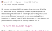 Glue for Yoast SEO & AMP Download Free WordPress Plugin