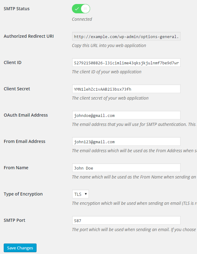 Gmail SMTP Download Free Wordpress Plugin 4