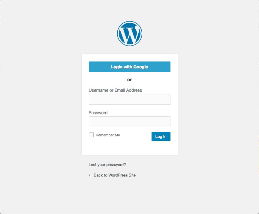 Google Apps Login Download Free Wordpress Plugin 2