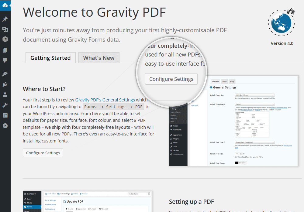 Gravity PDF Download Free Wordpress Plugin 5
