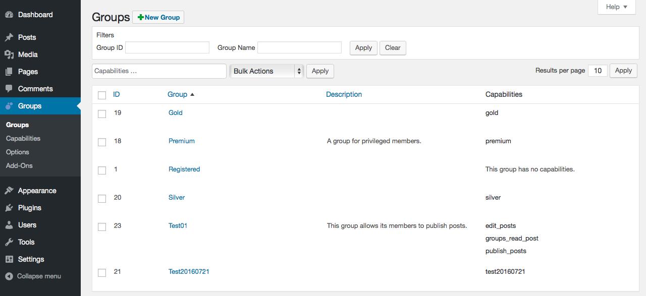 Groups Download Free Wordpress Plugin 4