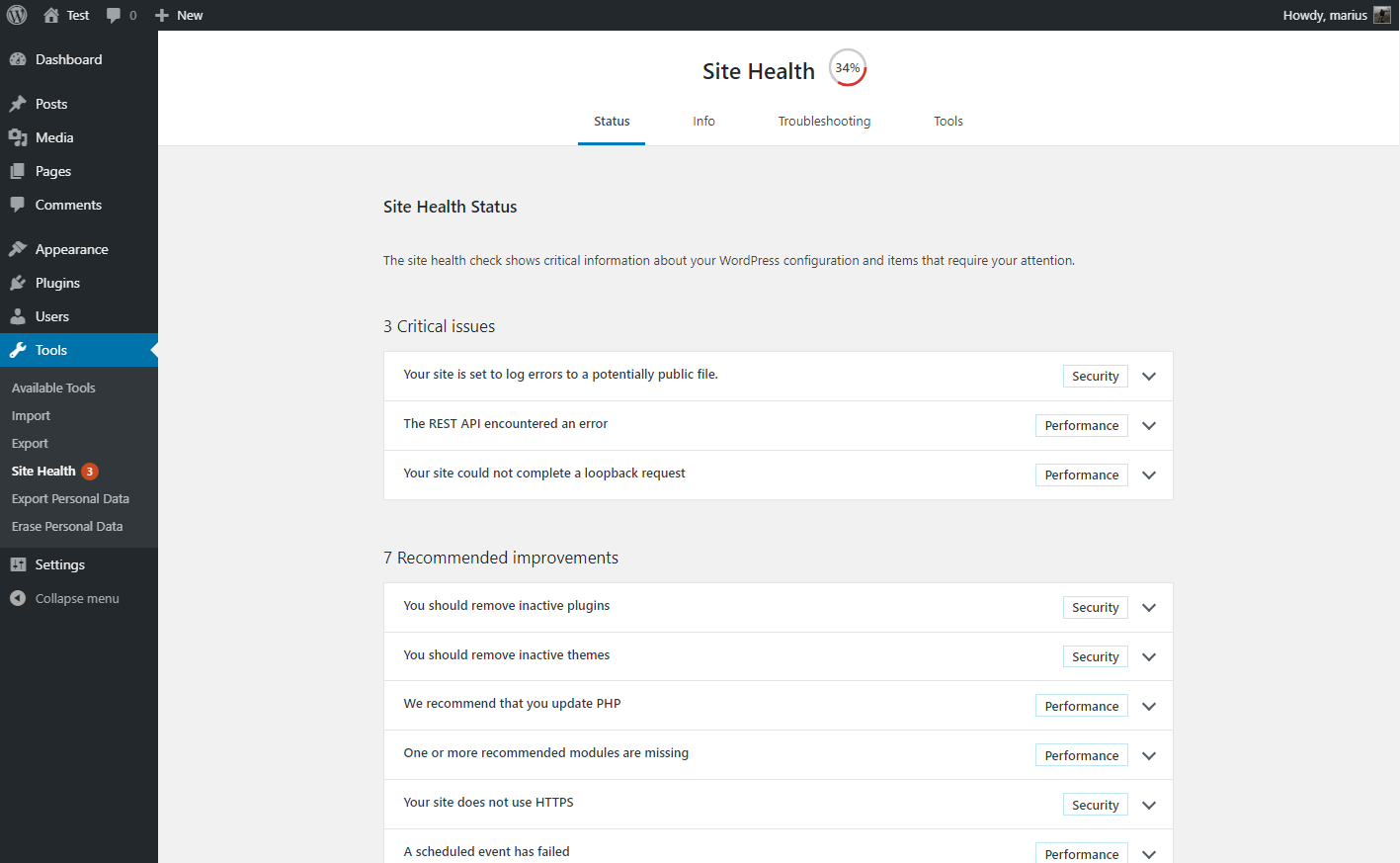 Health Check & Troubleshooting Download Free Wordpress Plugin 3