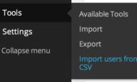 Import users from CSV with meta Download Free WordPress Plugin