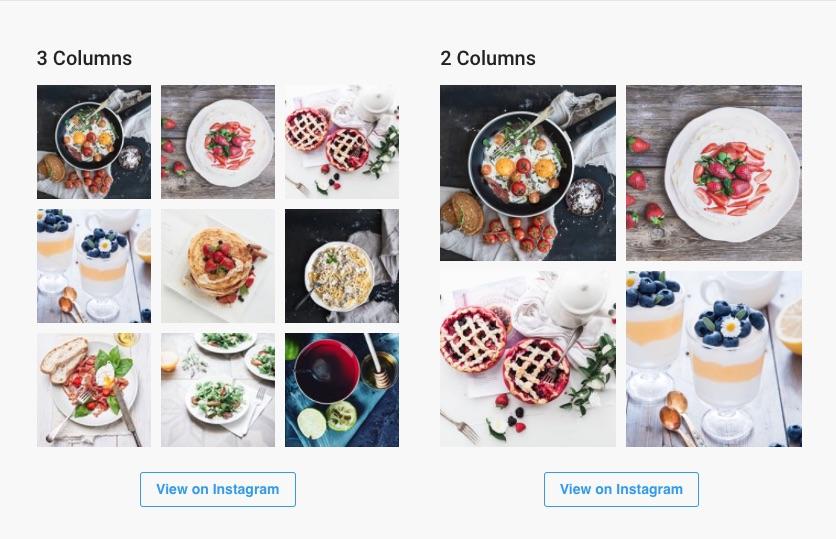 Instagram Widget by WPZOOM Download Free Wordpress Plugin 2