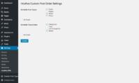 Intuitive Custom Post Order Download Free WordPress Plugin