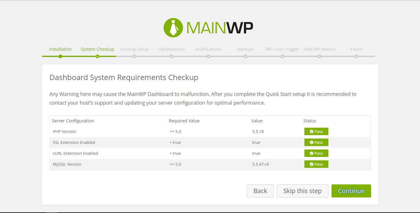 MainWP Child Download Free Wordpress Plugin 1