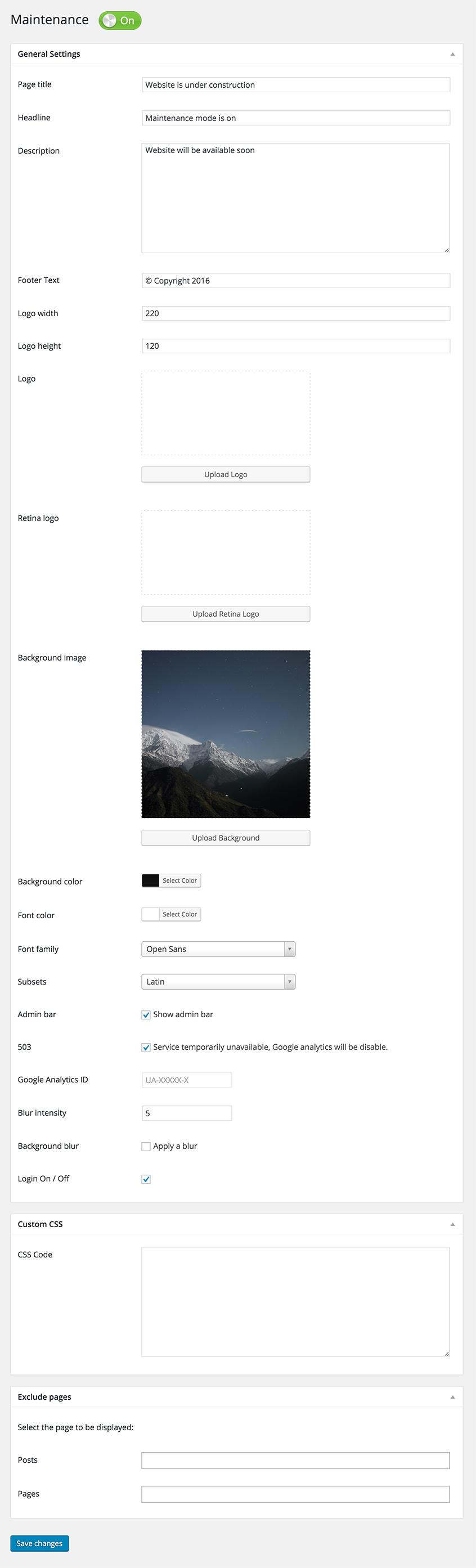 Maintenance Download Free Wordpress Plugin 2