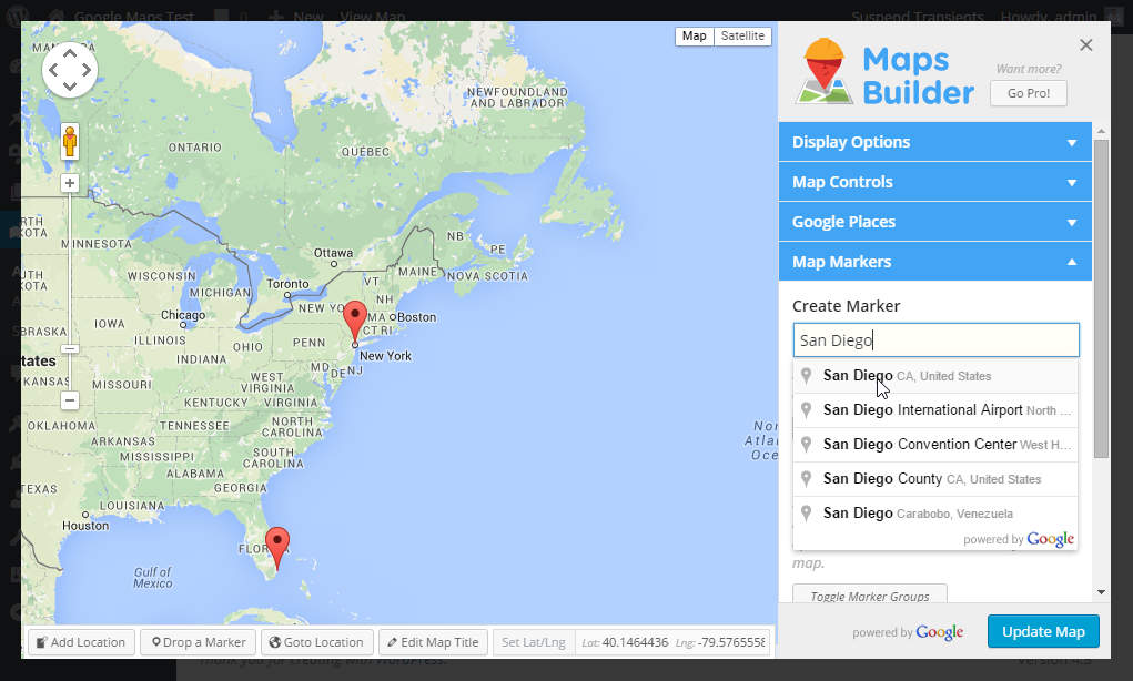Maps Builder – Google Maps Plugin Download Free Wordpress Plugin 4