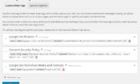Meta Tag Manager Download Free WordPress Plugin