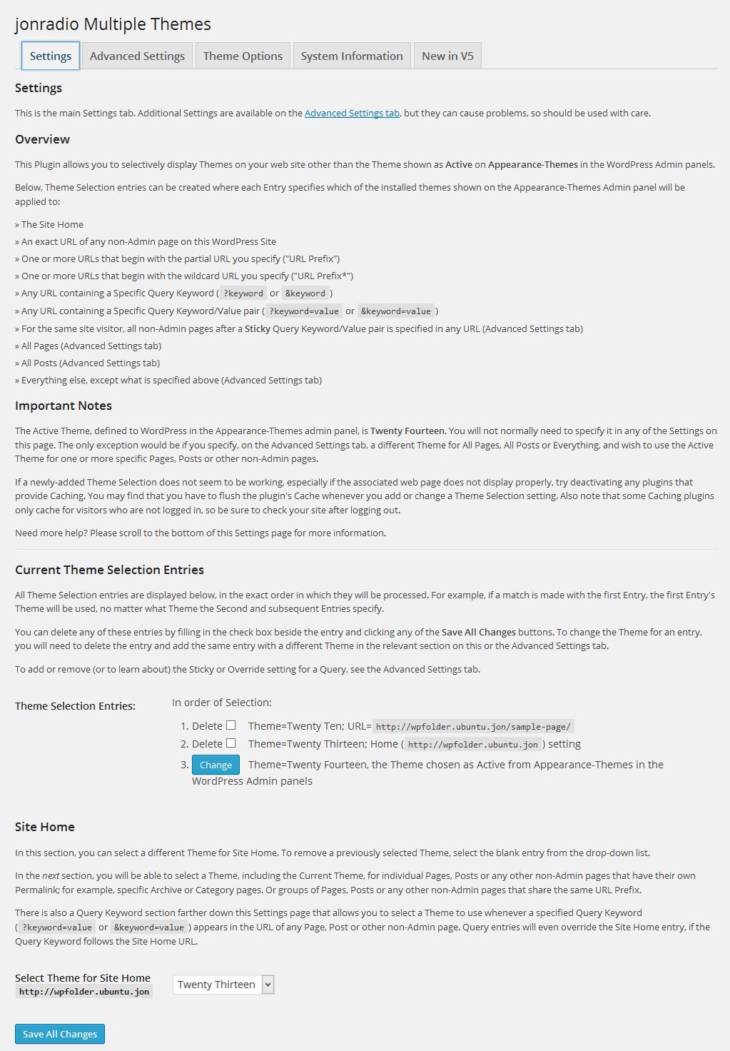 Multiple Themes Download Free Wordpress Plugin 2