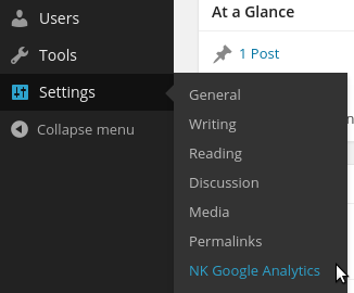 NK Google Analytics Download Free Wordpress Plugin 5