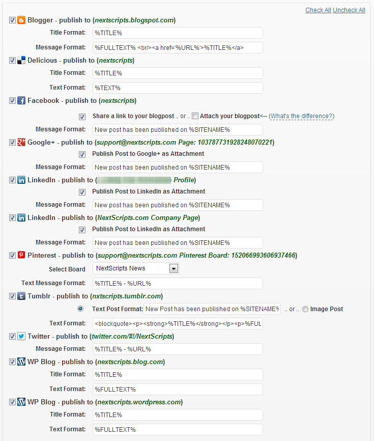 NextScripts: Social Networks Auto-Poster Download Free Wordpress Plugin 1