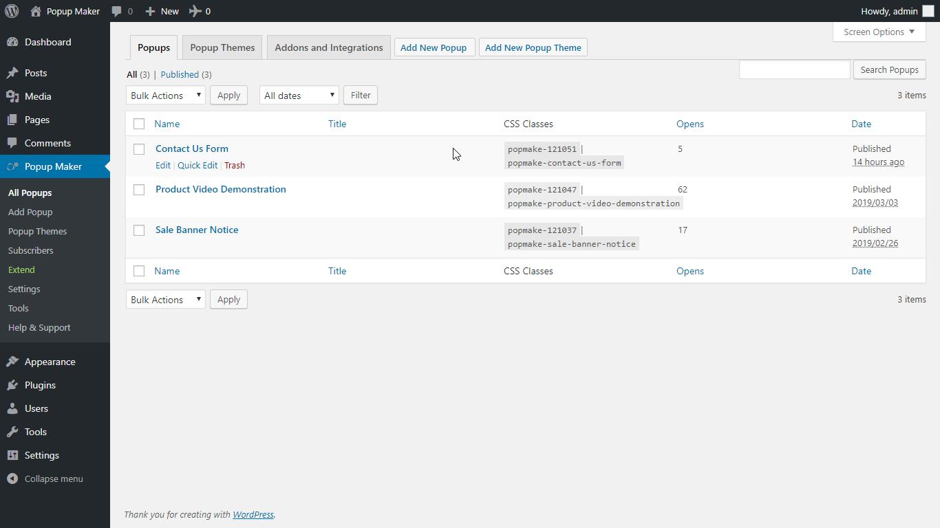 Popup Maker – Popup Forms, Optins & More Download Free Wordpress Plugin 5