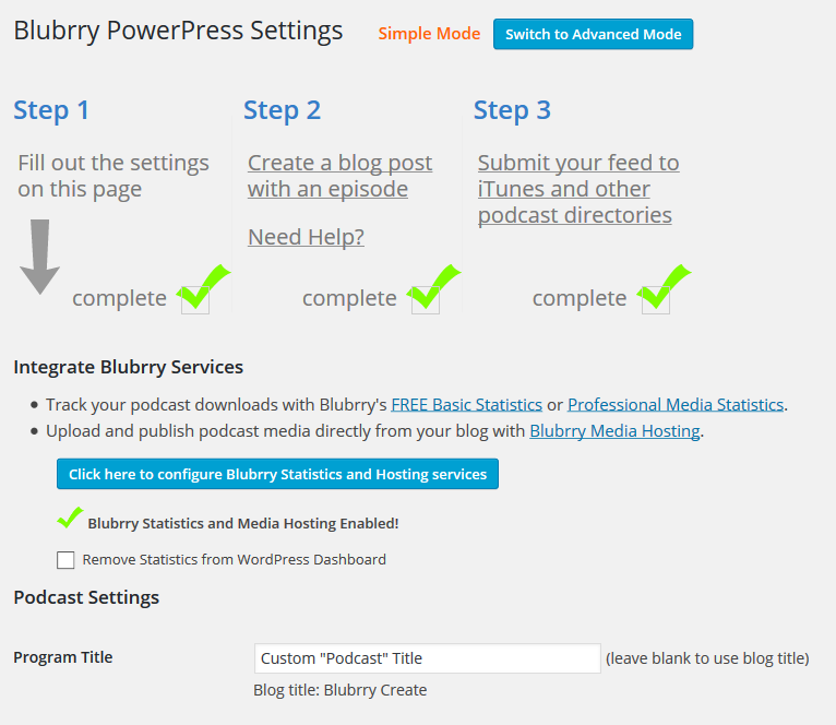 PowerPress Podcasting plugin by Blubrry Download Free Wordpress Plugin 4