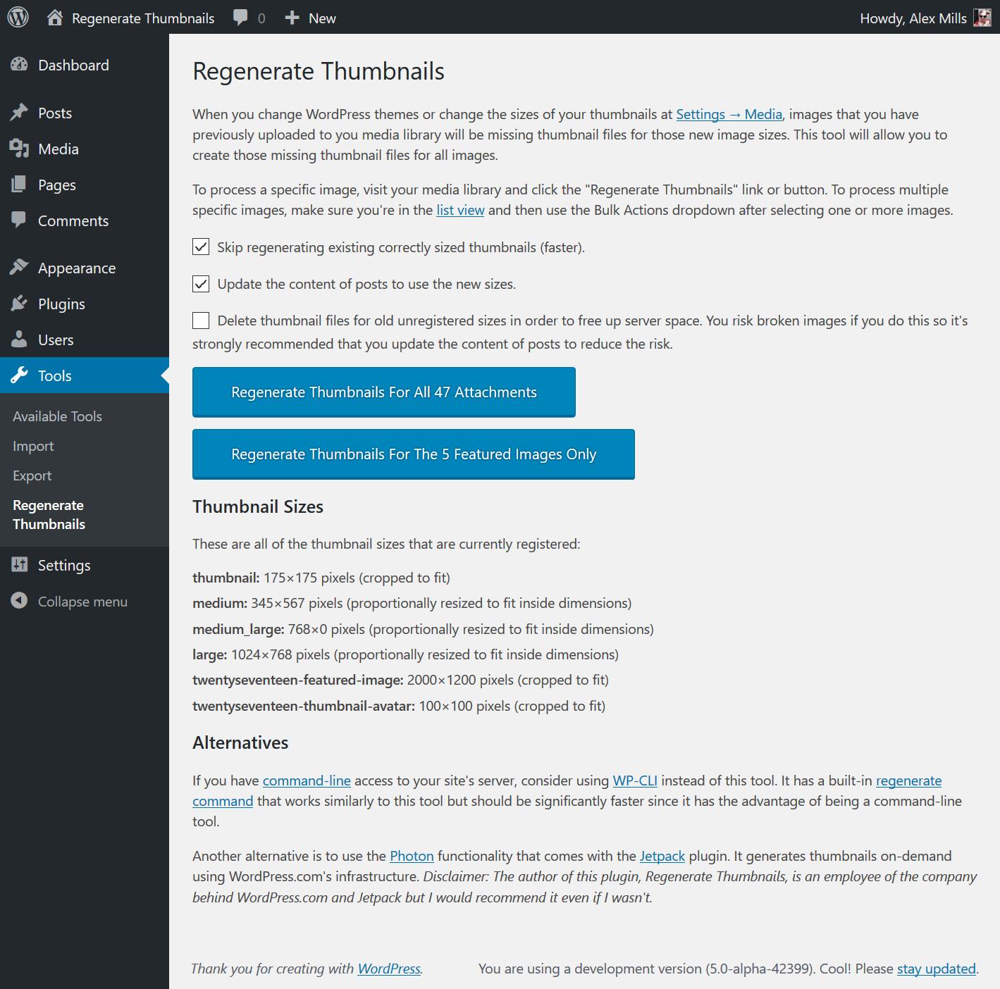 Regenerate Thumbnails Download Free Wordpress Plugin 2