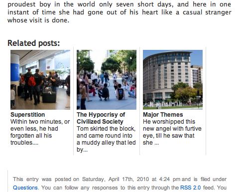 Related Posts Thumbnails Plugin for WordPress Download Free Wordpress Plugin 3