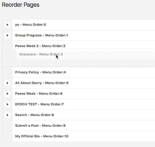 Reorder Posts Download Free Wordpress Plugin 5