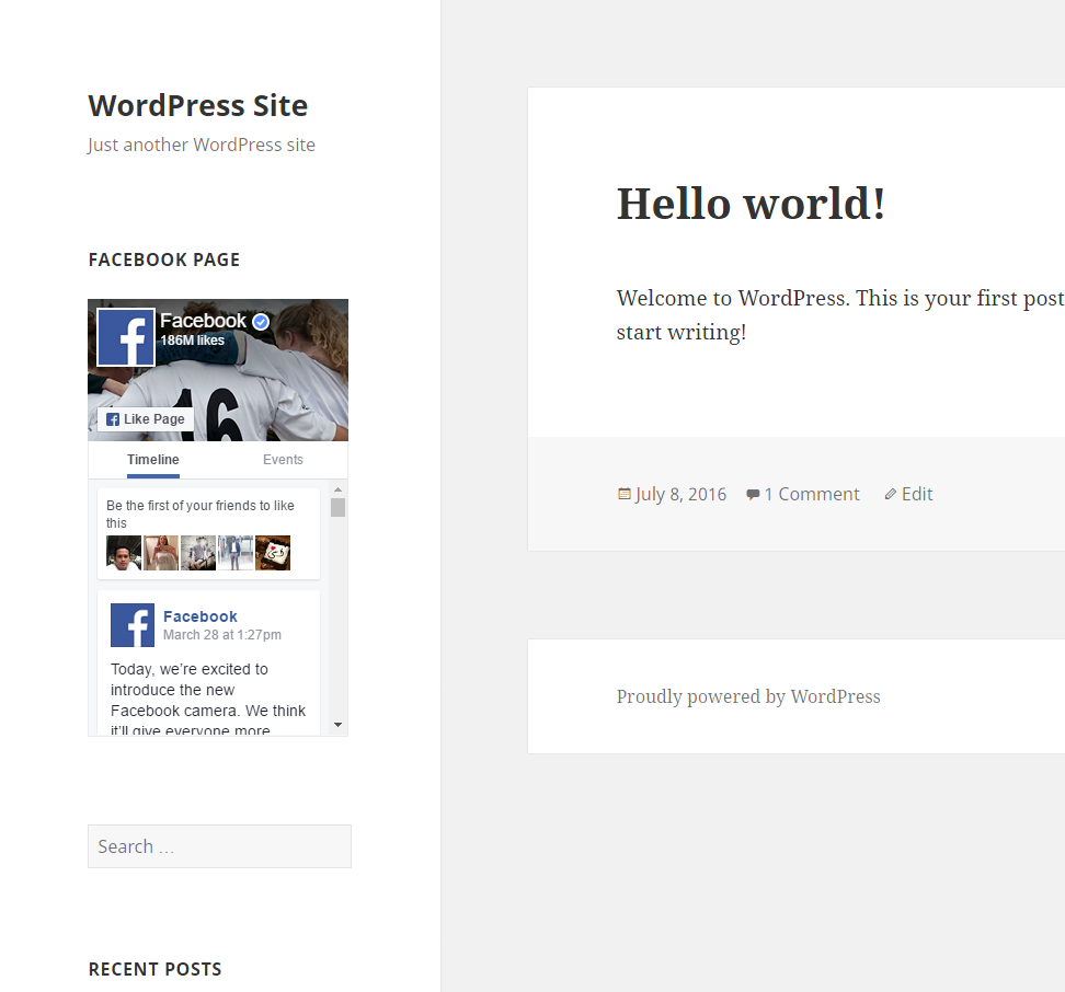 Responsive Facebook Page Plugin Download Free Wordpress Plugin 3