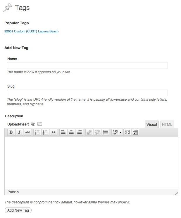 Rich Text Tags Download Free Wordpress Plugin 2