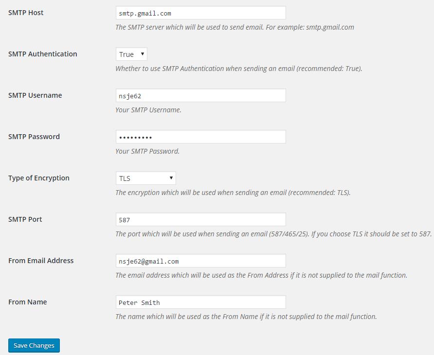 SMTP Mailer Download Free Wordpress Plugin 3