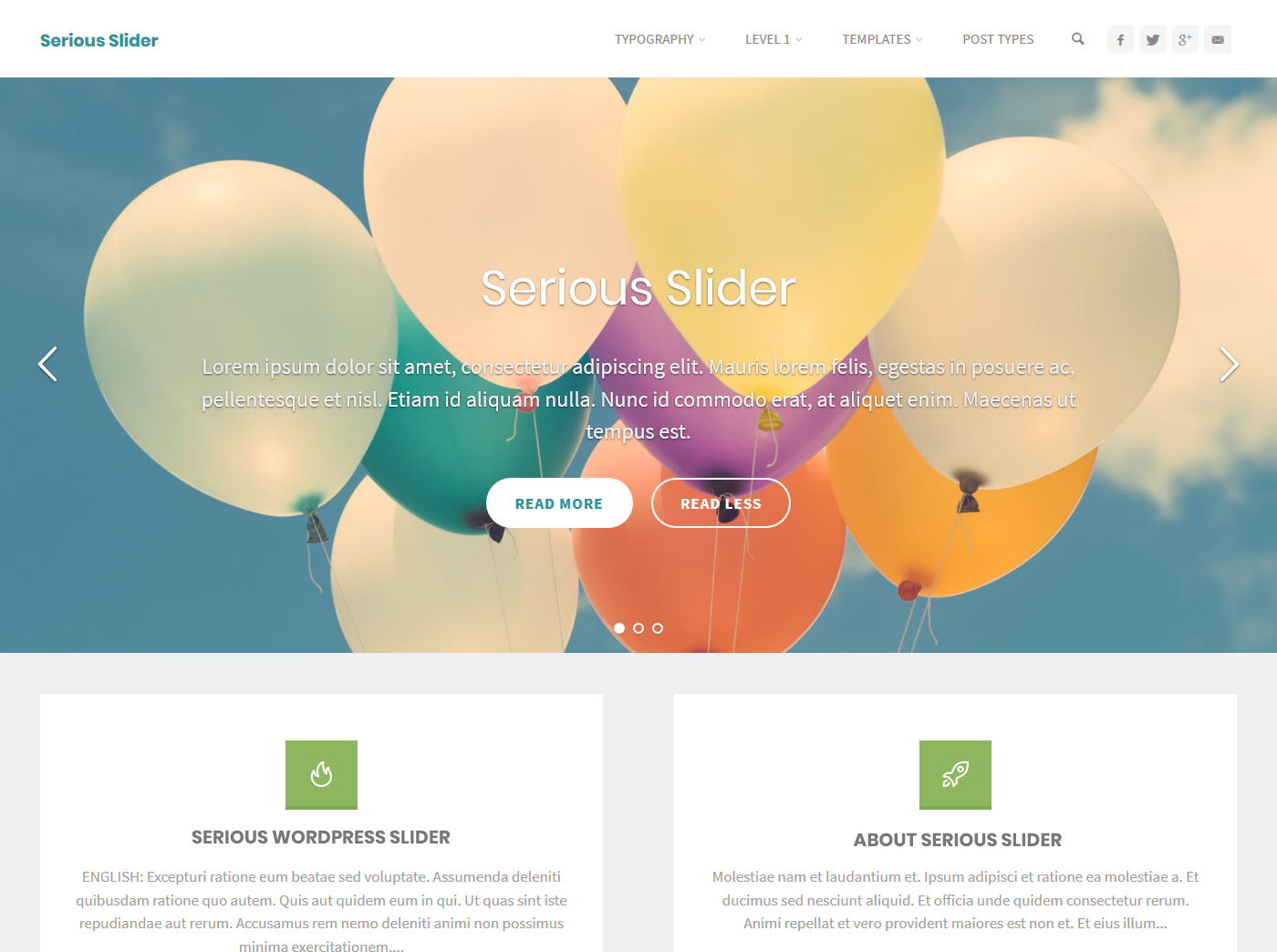 Serious Slider Download Free Wordpress Plugin 5
