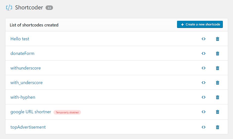 Shortcoder Download Free Wordpress Plugin 1