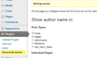 Show Hide Author Download Free WordPress Plugin