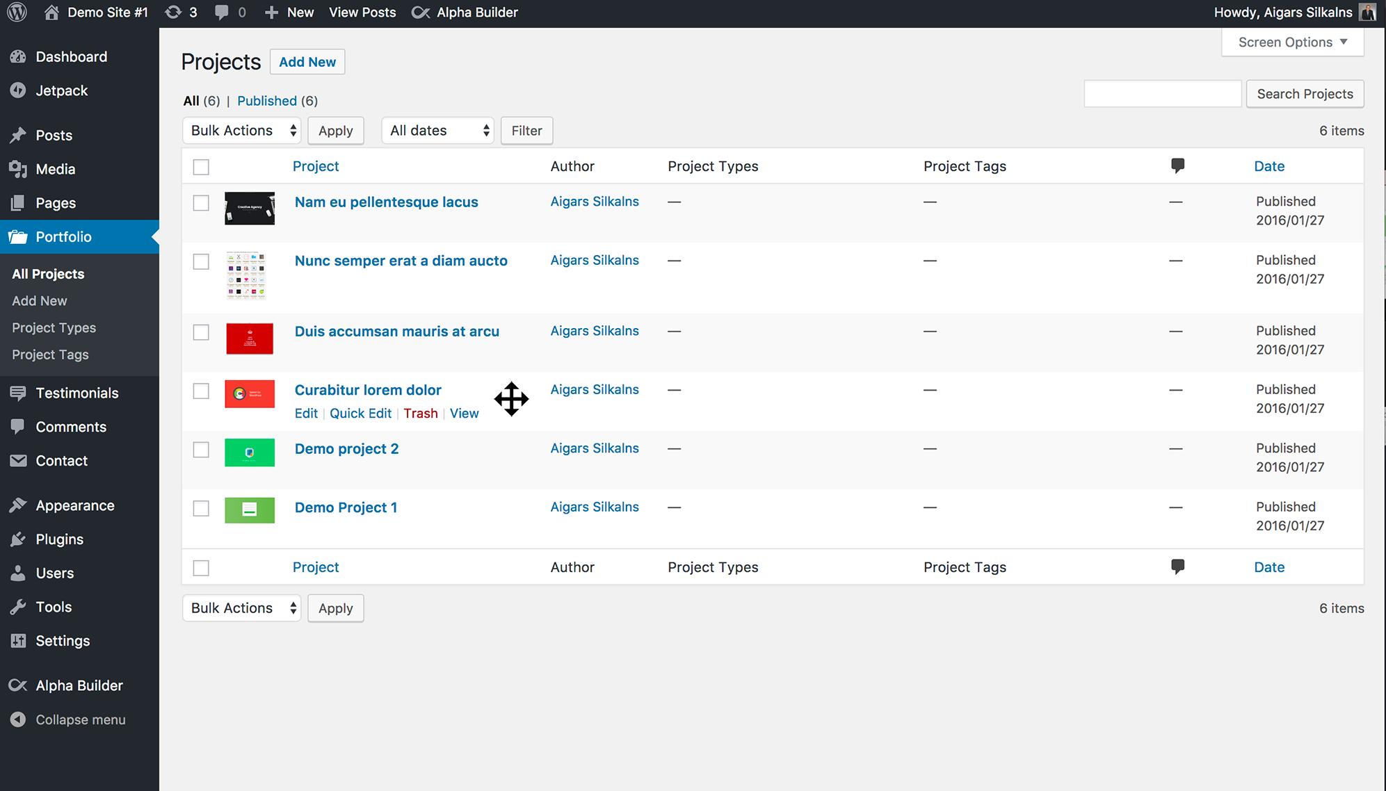 Simple Custom Post Order Download Free Wordpress Plugin 5