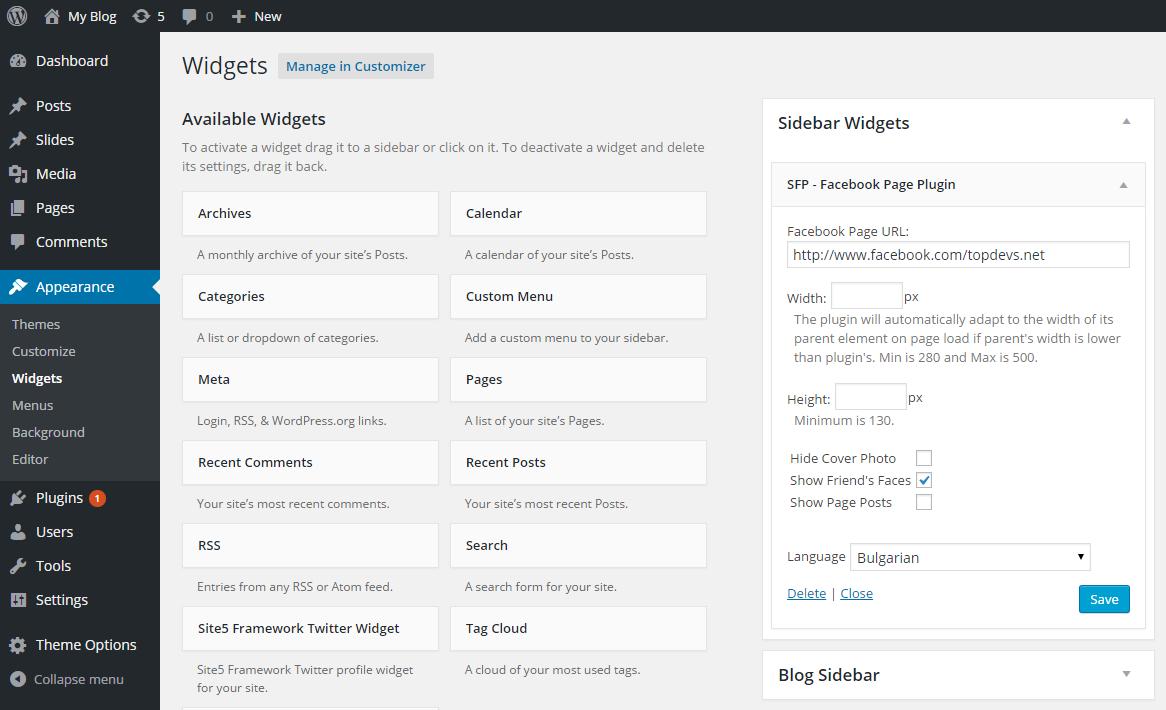 Simple Facebook Plugin Download Free Wordpress Plugin 2