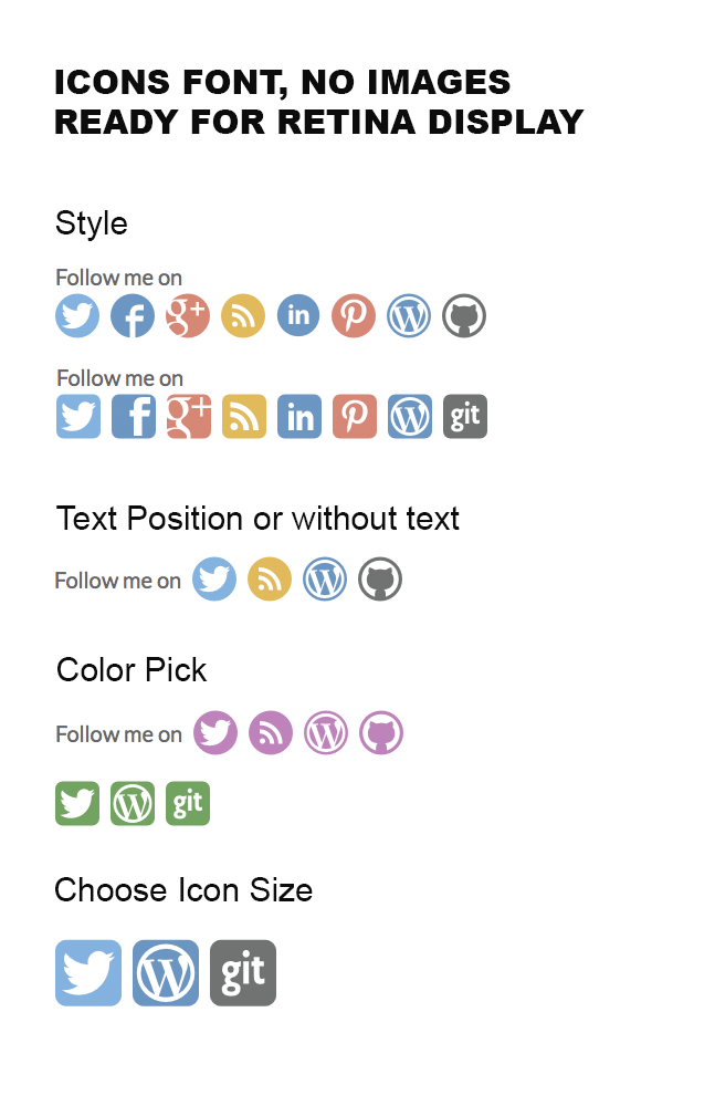 Simple Follow Me Social Buttons Widget Download Free Wordpress Plugin 4